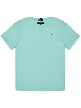 TOMMY HILFIGER TOMMY HILFIGER Marškinėliai Essential Cttn Tee KB0KB05838 D Mėlyna Regular Fit
