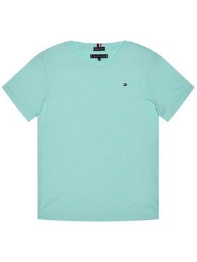 TOMMY HILFIGER TOMMY HILFIGER T-Shirt Essential Cttn Tee KB0KB05838 D Blau Regular Fit