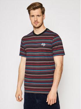HUF HUF T-Shirt Topanga KN00273 Kolorowy Regular Fit