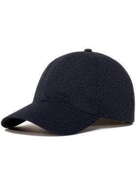 Calvin Klein Calvin Klein Kepurė su snapeliu Mono Blend Bb Cap K50K505738 Tamsiai mėlyna