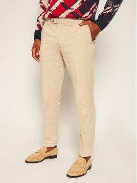 Oscar Jacobson Oscar Jacobson Spodnie materiałowe Danwick 5176 4305 Beżowy Slim Fit