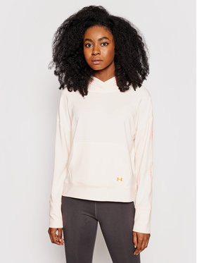 Under Armour Under Armour Bluza Rival Terry Taped Hoodie 1360904 Różowy Regular Fit