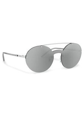 Emporio Armani Emporio Armani Sluneční brýle 0EA2088 30156G Stříbrná