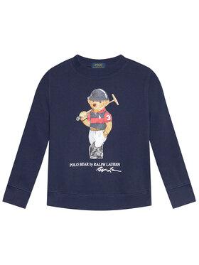 Polo Ralph Lauren Polo Ralph Lauren Majica dugih rukava Graphic Fleece 322836596001 Tamnoplava Regular Fit