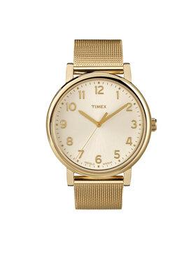 Timex Timex Ρολόι Essential Collection T2N598 Χρυσό