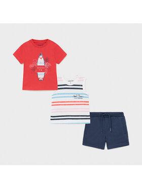 Mayoral Mayoral 2er-Set T-Shirts und Shorts 1672 Bunt Regular Fit