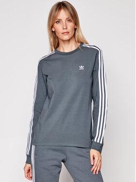 adidas adidas Блуза adicolor Classics GN2959 Сив Regular Fit