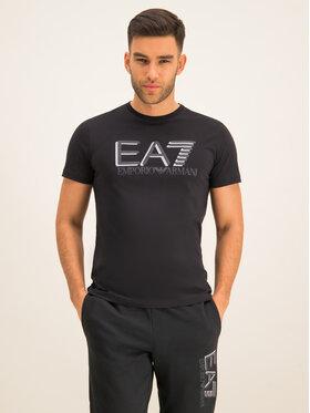 EA7 Emporio Armani EA7 Emporio Armani Póló 3HPT81 PJM9Z 1200 Fekete Regular Fit