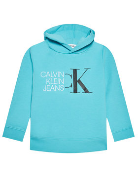 Calvin Klein Jeans Calvin Klein Jeans Суитшърт Hybrid Logo IB0IB00799 Син Regular Fit
