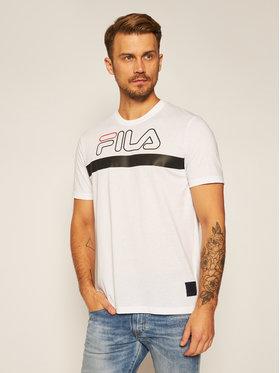 Fila Fila T-shirt Laurentin 683184 Blanc Regular Fit