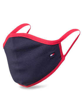 Tommy Hilfiger Tommy Hilfiger Υφασμάτινη μάσκα προστασίας για παιδιά Kids Face Cover AU0AU01194 Σκούρο μπλε