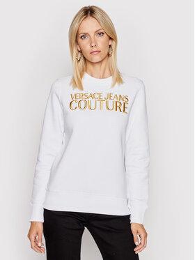 Versace Jeans Couture Versace Jeans Couture Суитшърт 71HAIT01 Бял Regular Fit