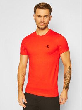 Calvin Klein Jeans Calvin Klein Jeans T-Shirt J30J314544 Oranžová Regular Fit