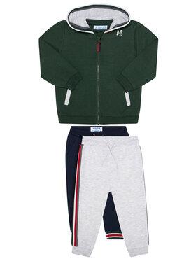 Mayoral Mayoral Komplet 2 par spodni dresowych i bluza 918 Kolorowy Regular Fit