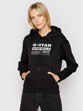 G-Star Raw G-Star Raw Bluza Premium Core D20760-C235-6484 Czarny Regular Fit