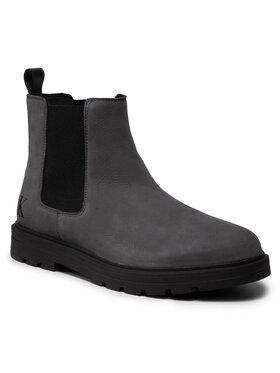 Calvin Klein Jeans Calvin Klein Jeans Sztyblety Ess Mid Chelsea Boot YM0YM00273 Szary