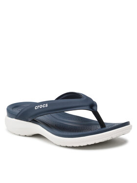 Crocs Crocs Žabky Capri V Sporty Flip W 206780 Tmavomodrá