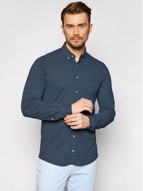 Pierre Cardin Pierre Cardin Marškiniai 3532/000/27461 Tamsiai mėlyna Slim Fit