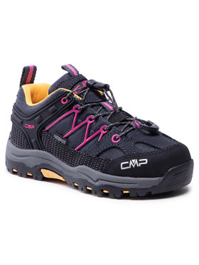CMP CMP Trekkingi Kids Rigel Low Trekking Shoe Wp 3Q54554 Czarny