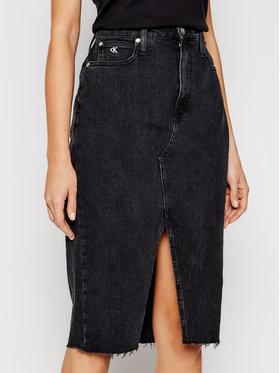 Calvin Klein Jeans Calvin Klein Jeans Jeans suknja J20J215923 Crna Regular Fit