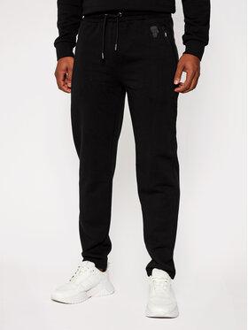 KARL LAGERFELD KARL LAGERFELD Pantalon jogging Sweat 705026 502910 Noir Regular Fit