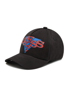 Guess Guess Καπέλο Jockey Delsin Logo ABDEL1 CO213 Μαύρο