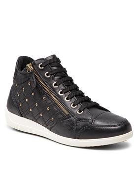 Geox Geox Sneakersy D Myria G D1568G 00085 C9999 Čierna
