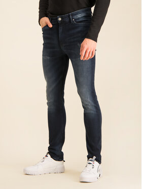 Tommy Jeans Tommy Jeans Blugi Slim Fit DM0DM06881 Bleumarin Slim Fit