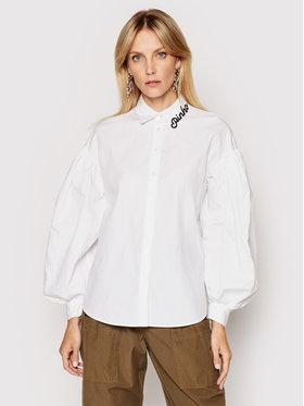 Pinko Pinko Marškiniai Ragioneria 1N1376 6827 Balta Regular Fit