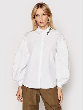 Pinko Pinko Риза Ragioneria 1N1376 6827 Бял Regular Fit