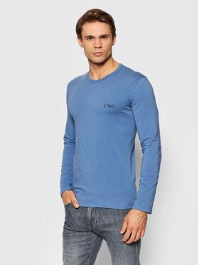 Emporio Armani Underwear Emporio Armani Underwear Тениска с дълъг ръкав 111023 1A715 01939 Син Regular Fit