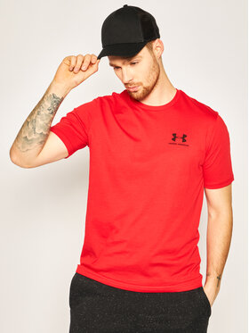 Under Armour Under Armour T-Shirt 1326799 Červená Loose Fit