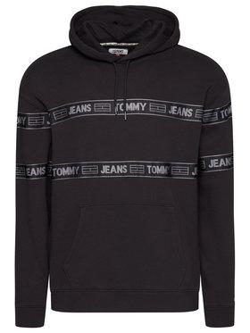 Tommy Jeans Tommy Jeans Mikina Tjm Tonal Tape DM0DM08410 Čierna Regular Fit