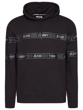 Tommy Jeans Tommy Jeans Sweatshirt Tjm Tonal Tape DM0DM08410 Schwarz Regular Fit