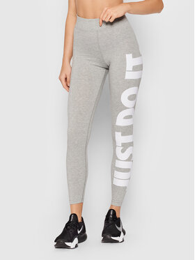Nike Nike Legíny Sportswear Essential CZ8534 Šedá Slim Fit