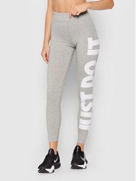 Nike Nike Legíny Sportswear Essential CZ8534 Sivá Slim Fit
