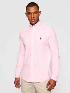 Polo Ralph Lauren Polo Ralph Lauren Риза Lsl 710654408006 Розов Regular Fit