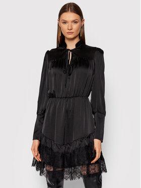 Rinascimento Rinascimento Sukienka codzienna CFC0104841003 Czarny Regular Fit
