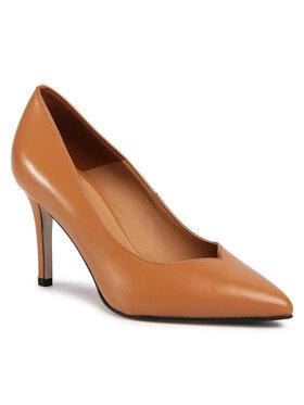 Gino Rossi Gino Rossi Обувки на ток DCK274-EQ2-0005-0087-0 Кафяв