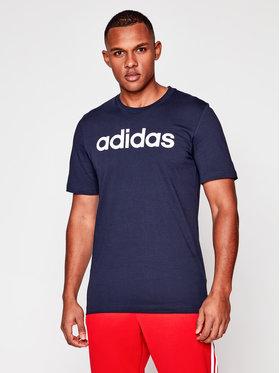 adidas adidas T-Shirt Essentials Linear Logo DU0406 Granatowy Standart Fit