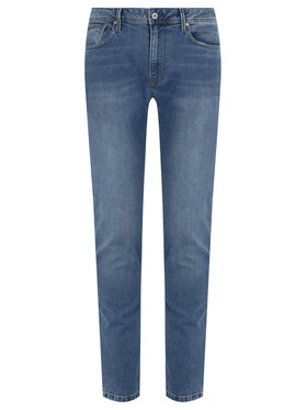 Pepe Jeans Pepe Jeans Tapered Fit džínsy Stanley PM201705MF5 Modrá Tapered Fit