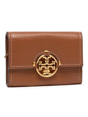 Tory Burch Tory Burch Mali ženski novčanik Miller Mini Wallet 79394 Smeđa