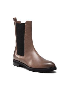 Solo Femme Solo Femme Členková obuv s elastickým prvkom 30818-06-M32/000-52-00 Hnedá
