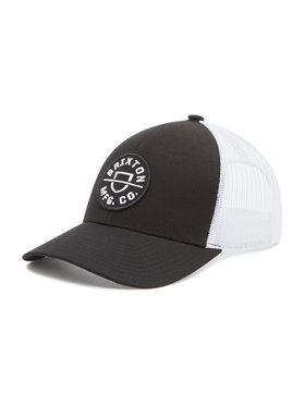 Brixton Brixton Καπέλο Jockey Crest X Mp Mesh Cap 10921 Μαύρο