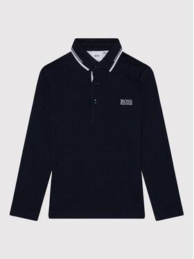 Boss Boss Polo marškinėliai J25L78 M Tamsiai mėlyna Regular Fit