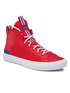 Converse Converse Sneakersy Ctas Ultra Mid 166980C Červená