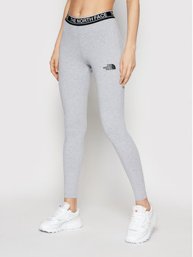 The North Face The North Face Leggings W New NF0A3BWLDYX1 Grigio Slim Fit
