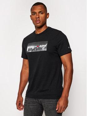 Tommy Jeans Tommy Jeans T-Shirt Tjm Photo Print DM0DM09788 Černá Regular Fit