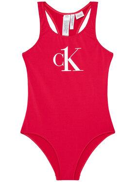 Calvin Klein Swimwear Calvin Klein Swimwear Strój kąpielowy G80G800404 Różowy