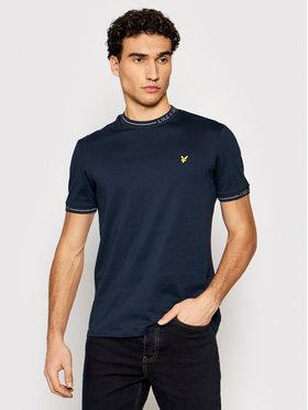 Lyle & Scott Lyle & Scott T-Shirt Seasonal Branded Ringer TS1419V Dunkelblau Regular Fit